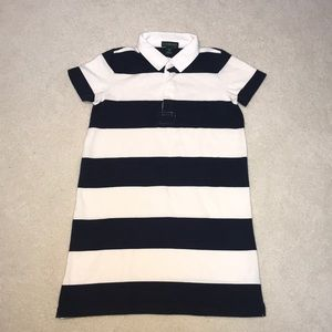 JCrew Navy & White Stripe Dress 💙
